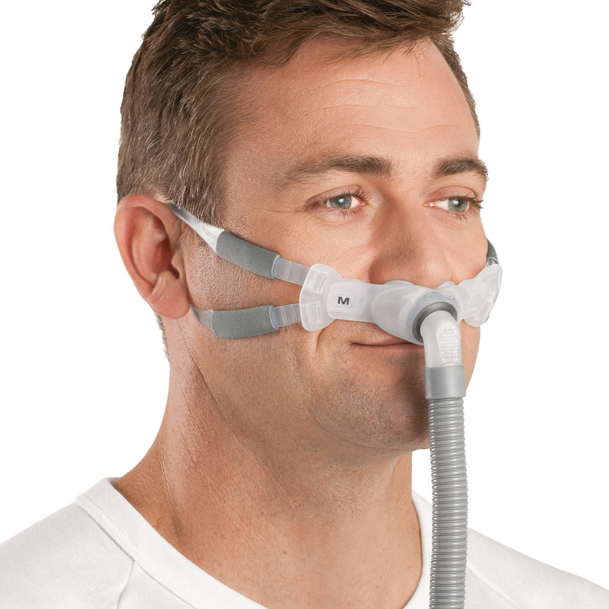 size 40 f28a2 42acd ResMed Swift FX Bella Nasal Pillow CPAP Mask with Headgear
