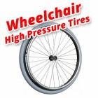 Wheelchair High Pressure Tires Guide