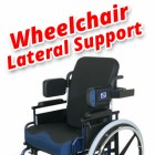 Wheelchair Lateral Support Guide