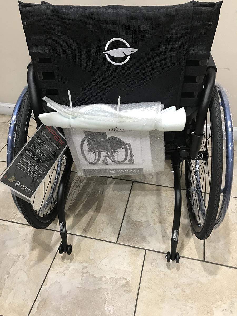 Motion Composites Apex Ultralight Rigid Carbon Wheelchair