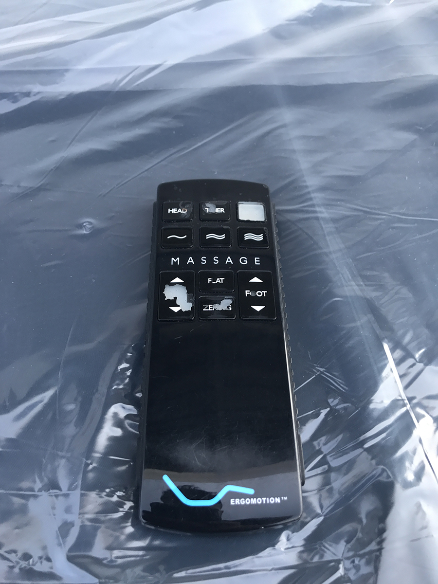 Ergomotion Series 400 Adjustable Bed With Wireless Remote