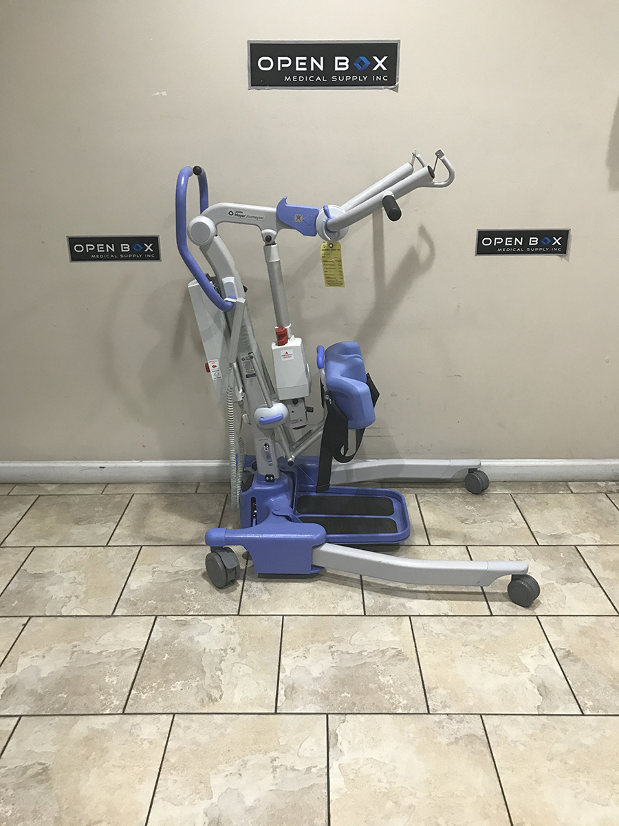 Hoyer Journey 340 Electric Sit To Stand Lift Battery Power