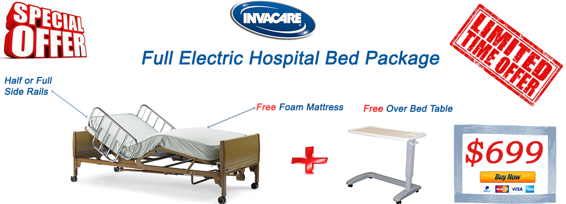 invacare full electric bed sale.png