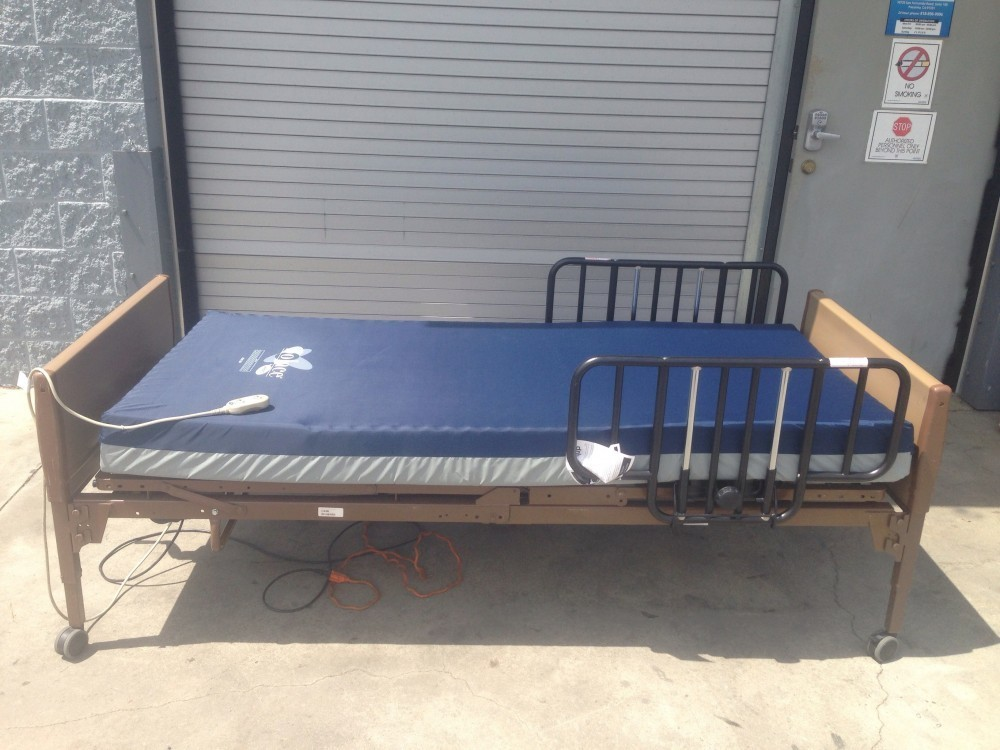 Used Invacare Semi Electric Hospital Bed Package