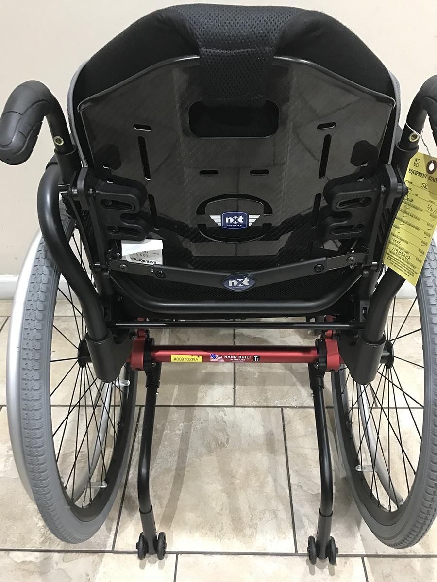 Tilite Zra Ultralight Titanium Wheelchair