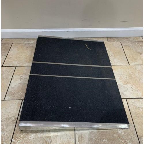 PVI Aluminum Solid Self Supporting Threshold Ramp