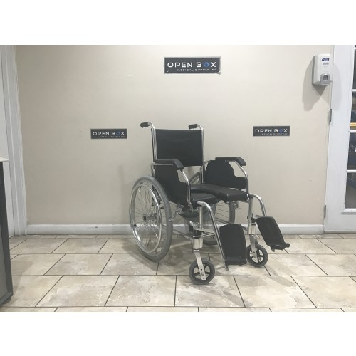 3-in-1 Commode Wheelchair