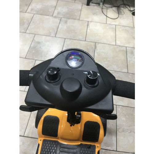 Controls on 4 Wheel Mobility Scooter