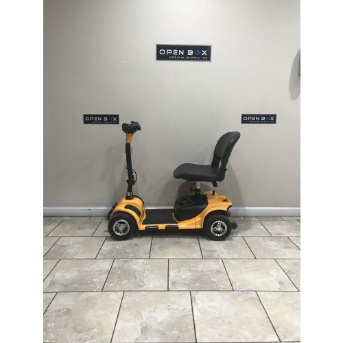 Side view of 4 Wheel Mobility Scooter