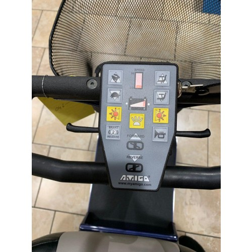 Controls of Amigo RD Mobility Scooter