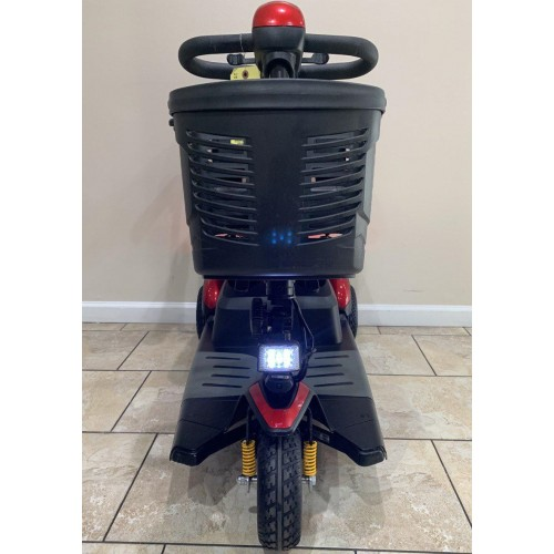Front view of Buzzaround EX 3 Wheel Mobility Scooter