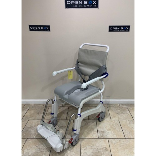 Side view of Clarke Aquatec Ocean Shower Commode Chair