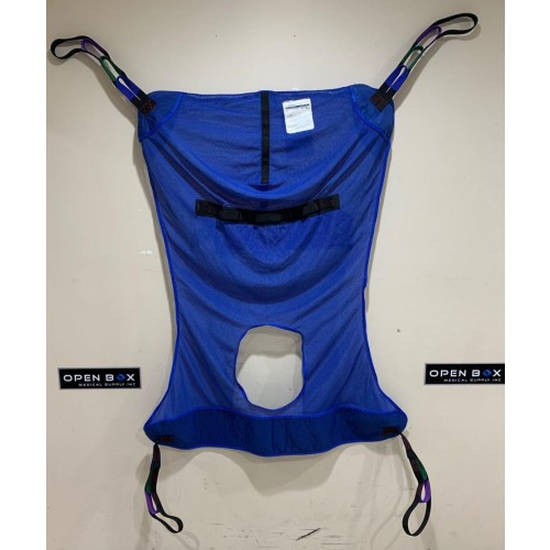 Drive Full Body Patient Lift Sling With Commode Cutout