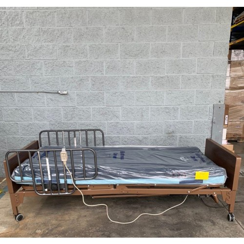 Side view of Drive Semi Electric Hospital Bed