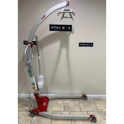 Side view of Etac Molift Smart 150 Portable Power Patient Lift