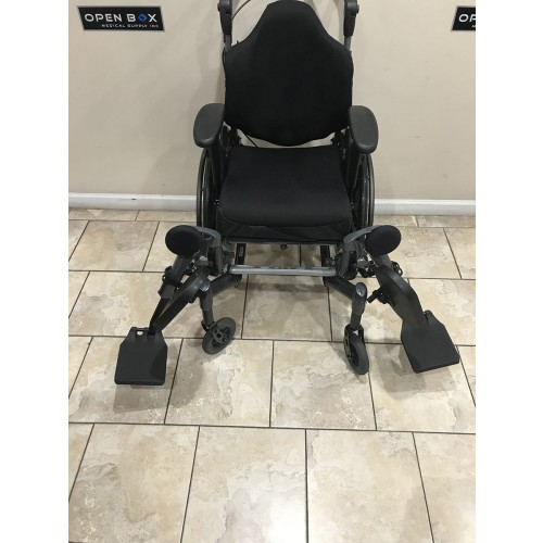 Front view of Fuze T50 50° Manual Tilt Wheelchair