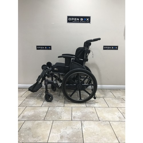 Side view of Fuze T50 50° Manual Tilt Wheelchair