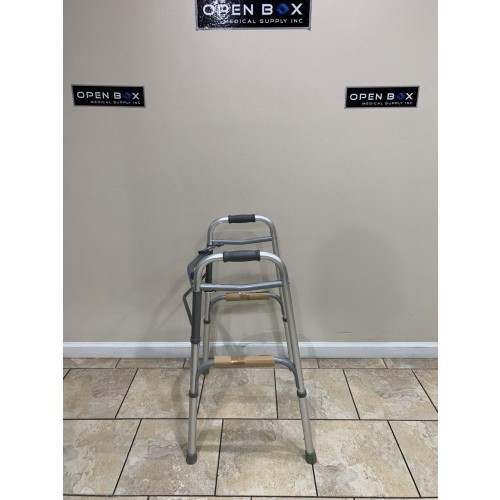 Side view of Invacare I-Class Dual Release Paddle Walker