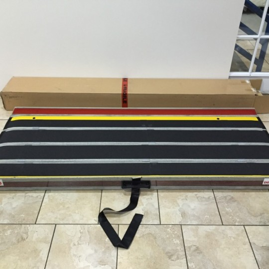"DecPac Portable Fiberglass Wheelchair Ramp (6' 6"")"