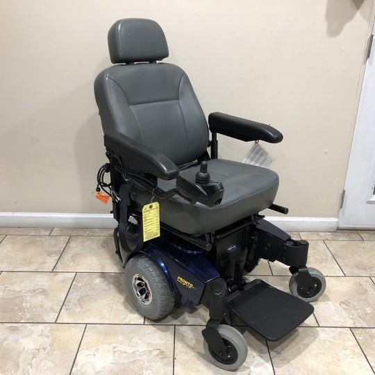 Used Invacare Pronto M71 Power Wheelchair with SureStep
