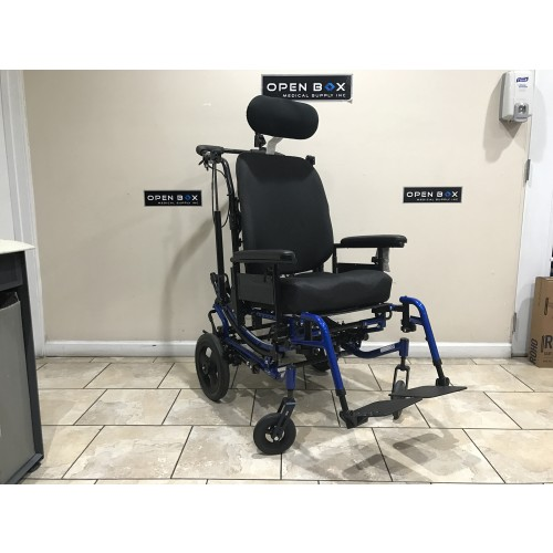 Invacare Solara 3G Tilt-In-Space Wheelchair Blue