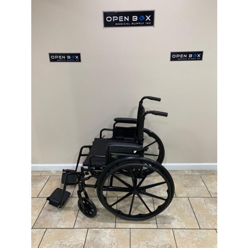 Side view of Karman 802-DY Lightweight Wheelchair