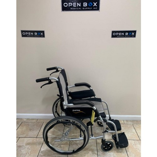 Side view of Karman Ergo Flight Ultra Lightweight Wheelchair