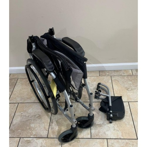 Folded Karman Ergo Flight Ultra Lightweight Wheelchair
