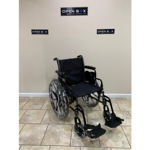 "Karman LT-700T 18"" Folding Manual Wheelchair"