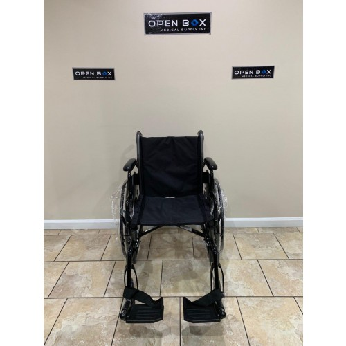 Front view of Karman LT-700T Folding Manual Wheelchair