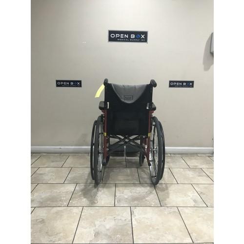 Back view of Karman S-Ergo 115 Folding Wheelchair