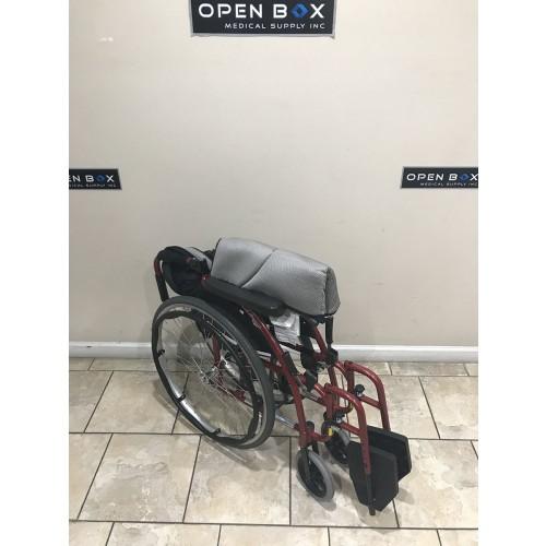 Folded Karman S-Ergo 115 Folding Wheelchair