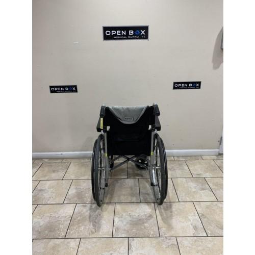 Back view of Karman S-Ergo 115 Ultralight Folding Wheelchair