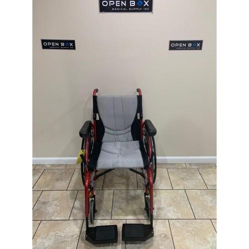 Front view of Karman S-Ergo 125 Ultra Lightweight Manual Wheelchair