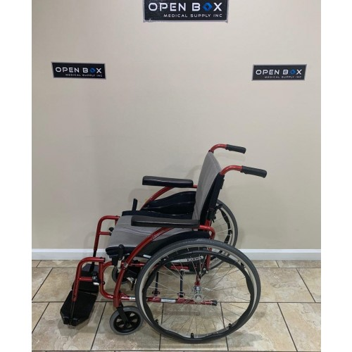 Side view of Karman S-Ergo 125 Ultra Lightweight Manual Wheelchair