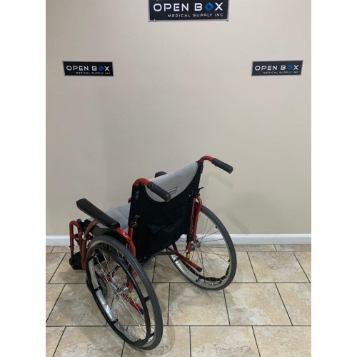 Back view of Karman S-Ergo 125 Ultra Lightweight Manual Wheelchair