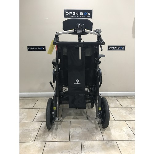 Back view of Karman VIP-515-TP Lightweight Tilt-in-Space Wheelchair