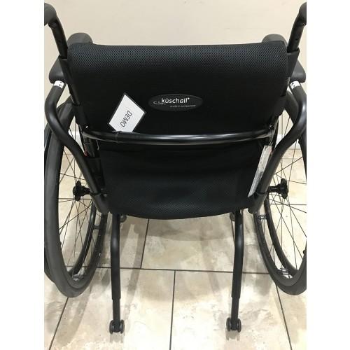 Back view of Kuschall Advance Rigid Ultralight Wheelchair