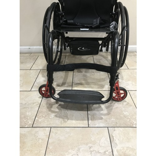 Footrest on Kuschall Advance Rigid Ultralight Wheelchair