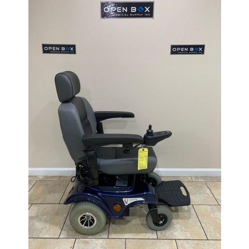 Side view of Liberty 312 Rear-Wheel Power Wheelchair