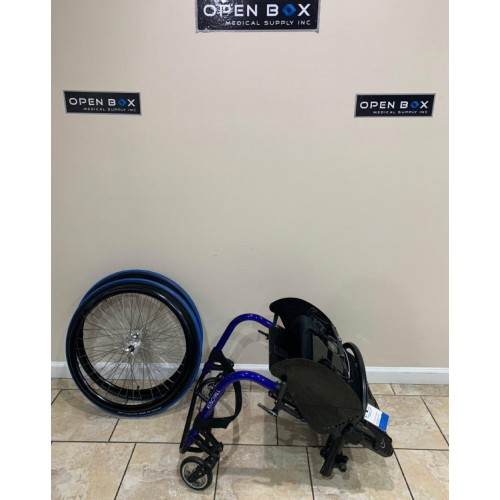 Disassembled Parts of Manufacturer Demo Kuschall Advance Ultralight Wheelchair