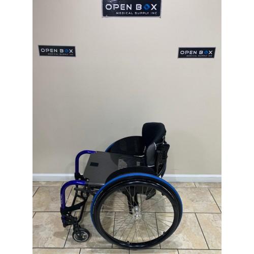 Side view of Manufacturer Demo Kuschall Advance Ultralight Wheelchair
