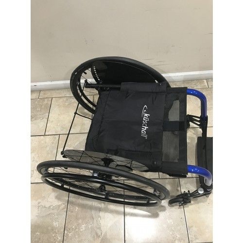 Folded Manufacturer Demo Kuschall Champion Rigid Foldable Wheelchair