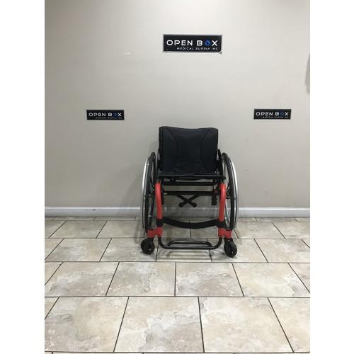 Front view of Manufacturer Demo Kuschall K Series Attract Ultralight Wheelchair