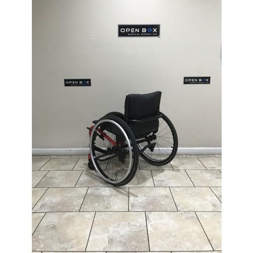 Back view of Manufacturer Demo Kuschall K Series Attract Ultralight Wheelchair