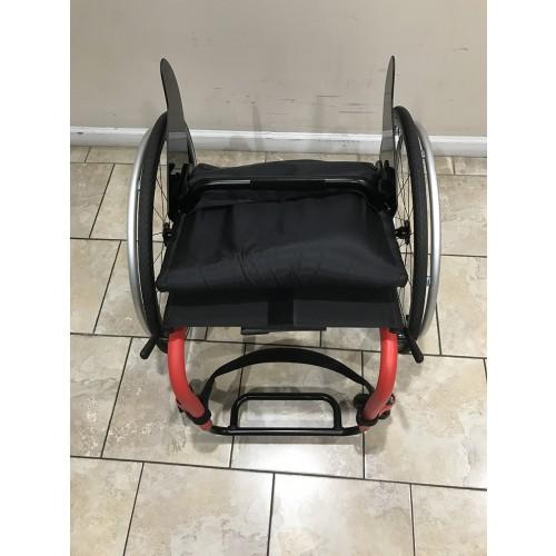 Top view of Manufacturer Demo Kuschall K Series Attract Ultralight Wheelchair