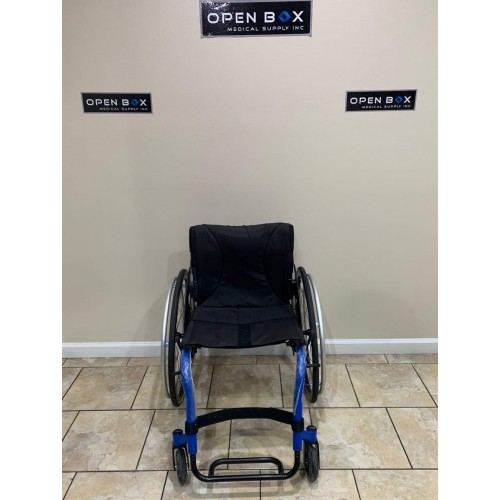 Front view of Manufacturer Demo Kuschall K Series Attract Ultralight Wheelchair
