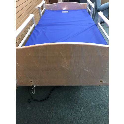 Top view of Volker 3080 Full Electric Hospital Bed w/ Mattress Bundle