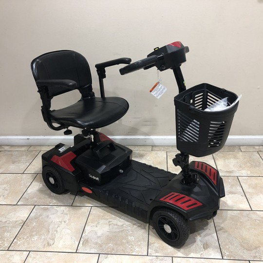 Open Box Drive Spitfire Scout 4-Wheel Travel Power Scooter