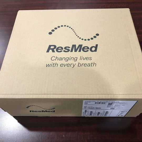 Open Box ResMed AirSense 10 AutoSet CPAP with HumidAir Tube